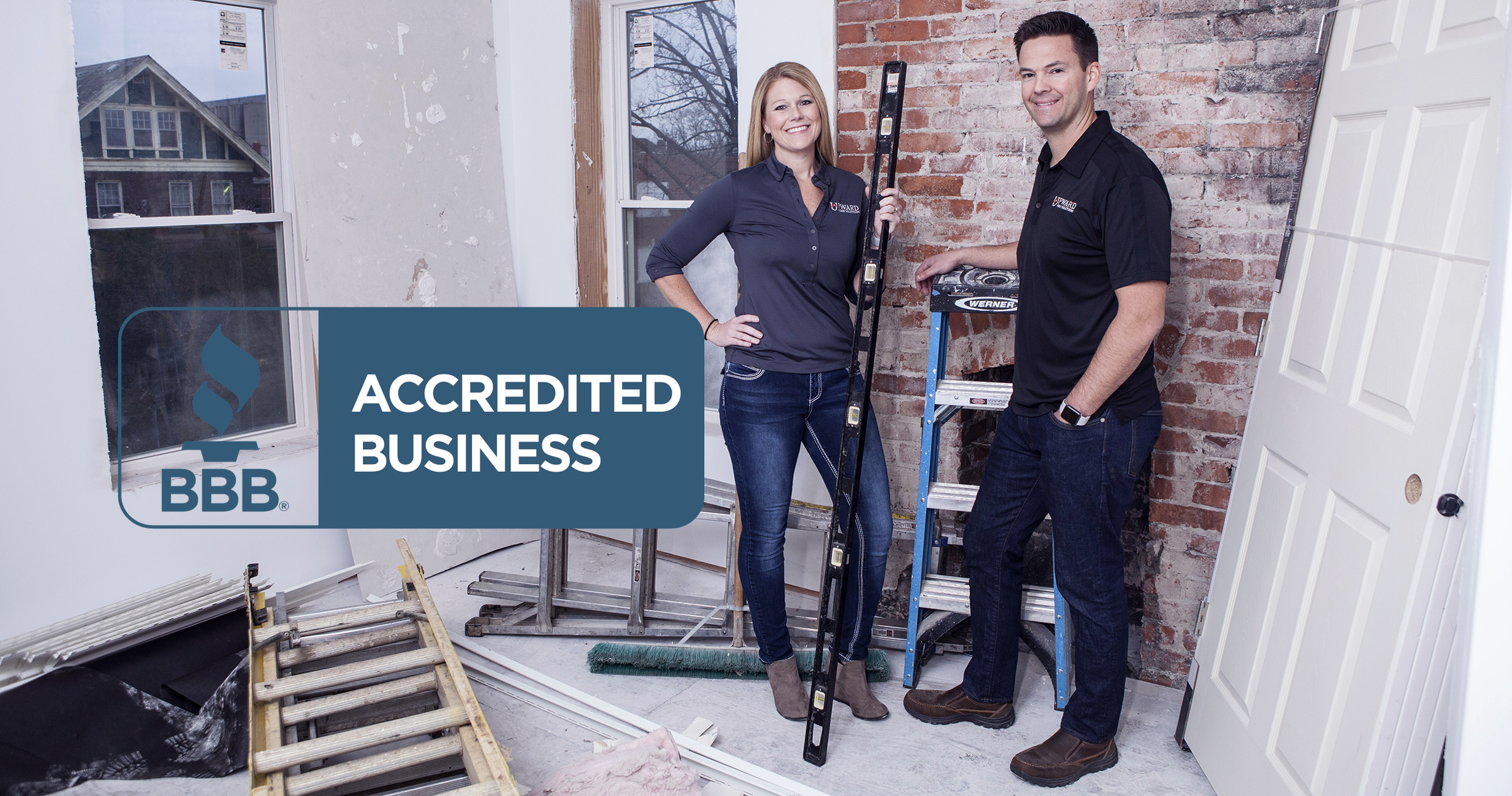 BBB Accredited Business — Upward Home Solutions