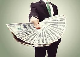 cash hand