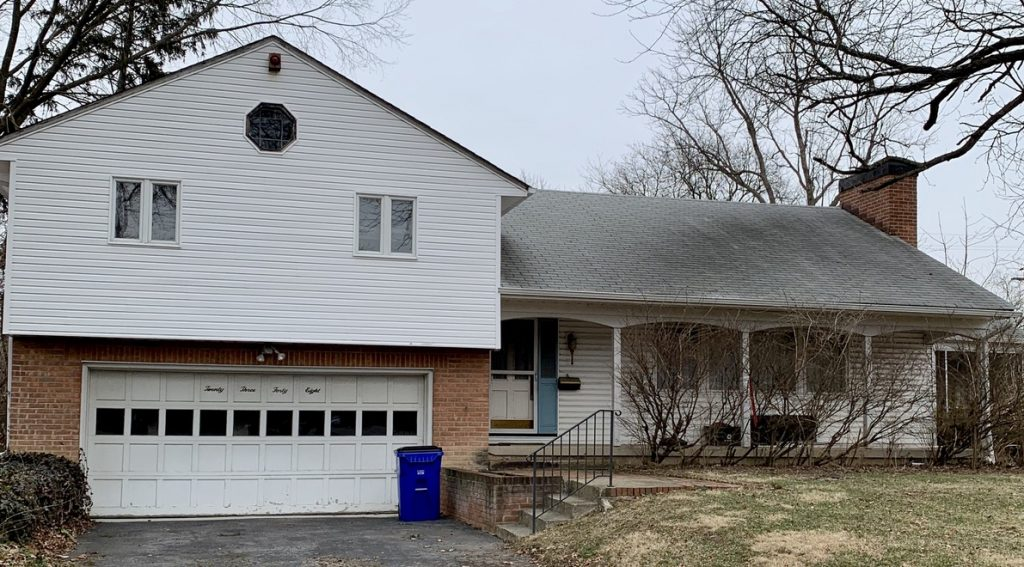 What happens to the equity on a white, one-story house with garage when I sell?